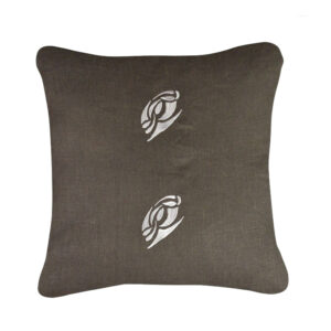 Coussin-lin-carbone-double-broderie-40x40cm
