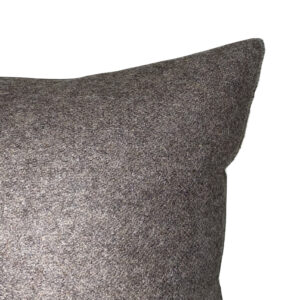 coin coussin flanelle anthracite