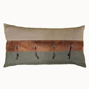 Coussin cale dos TERRE PROMISSE olive