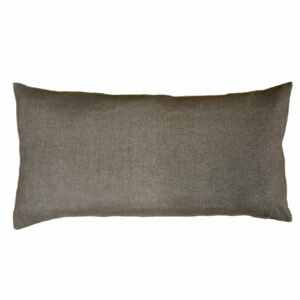 Coussin terre promise armée olive verso