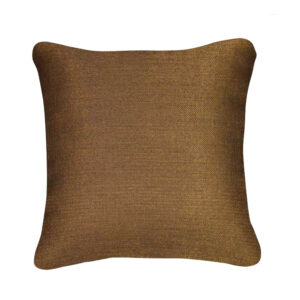coussin pearl chocolat